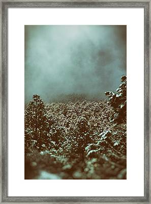 Approaching Storm Framed Print by Jason Coward