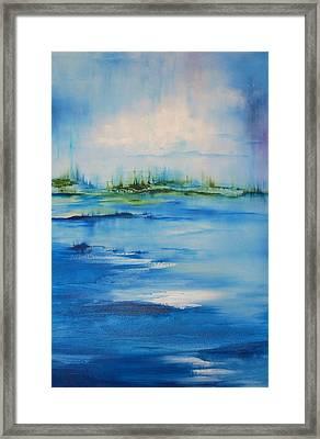 Approaching Storm Framed Print by Larry Ney  II