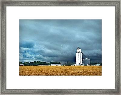 Approaching Storm Framed Print by Michael Ciskowski