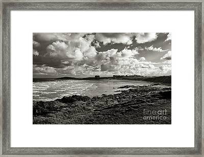 Approaching Storm Framed Print by Nicholas Burningham