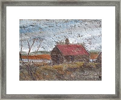 Approaching Storm Framed Print by Norman F Jackson
