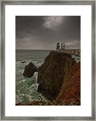 Approaching Storm Framed Print by Patrick  Flynn