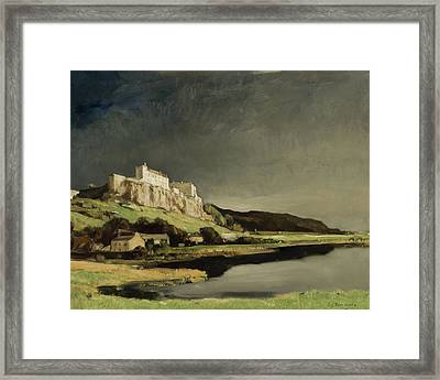 Approaching Storm Stirling Framed Print