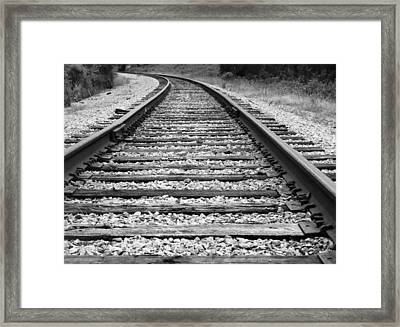 Approaching The Bend  Framed Print by Mario Carta