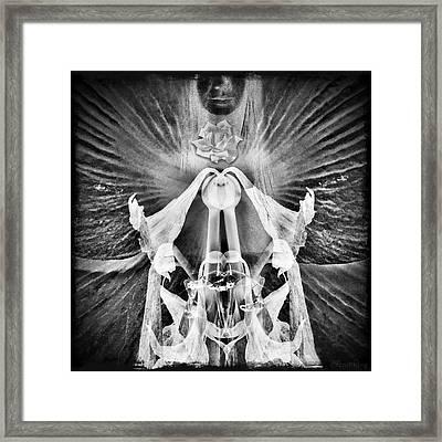 Approximate Deity Framed Print by Richard Smith