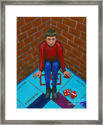 April 15th The Pawn Framed Print