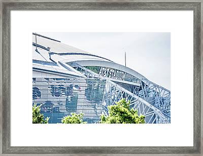 April 2017 Arlington Texas Att Nfl Cowboys Football Stadium  Framed Print