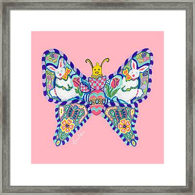 April Butterfly Framed Print