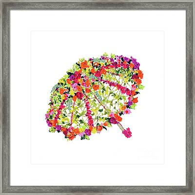 April Showers Bring May Flowers Framed Print