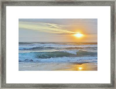 April Sunrise  Framed Print