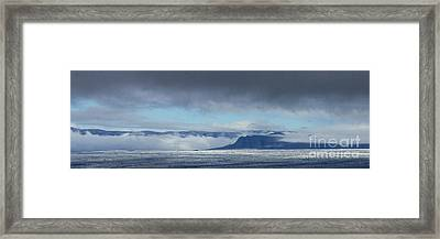 apron in southern Iceland 1 Framed Print