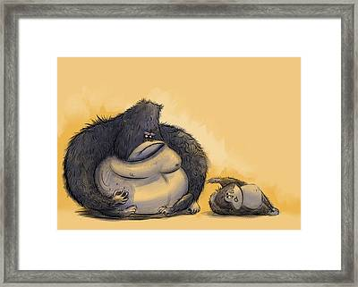 Apz Framed Print by Andy Catling