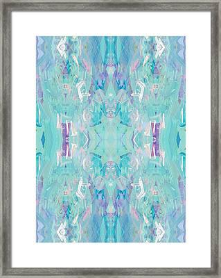 Aqua Framed Print by Beth Travers