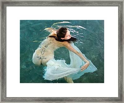Aquadance Water Ballet Framed Print