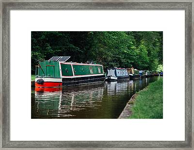 Aquaduct In Wales Framed Print by Analeigh Imagery