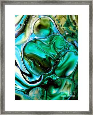 Aquamarine Framed Print by Lisa Roberts