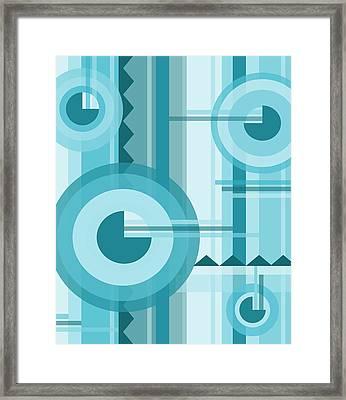 Aquarama Framed Print by Tara Hutton