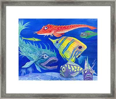 Aquarium 1 Framed Print