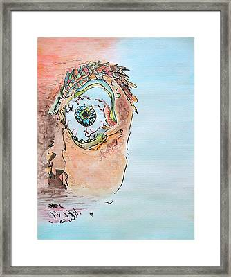 Aquarium Framed Print by Dave Martsolf