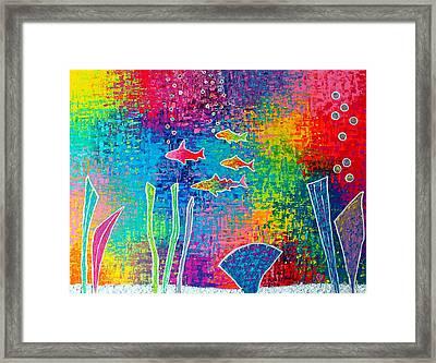 Aquarium Framed Print by Jeremy Aiyadurai