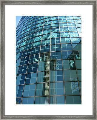 Aquarium Framed Print by Tom Hefko