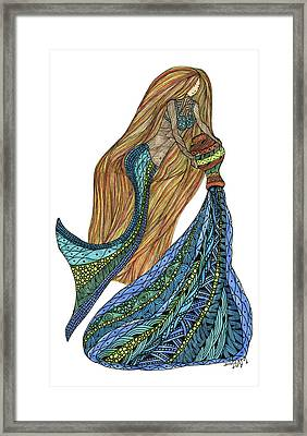 Aquarius Framed Print