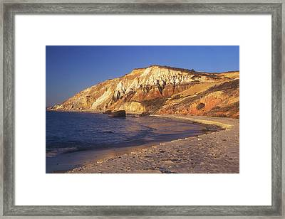 Aquinnah Gay Head Cliffs Framed Print