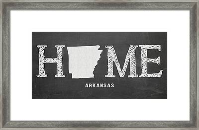 Ar Home Framed Print