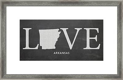 Ar Love Framed Print by Nancy Ingersoll