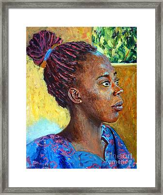 Ara Framed Print