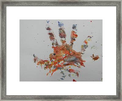 Arab Spring One Framed Print