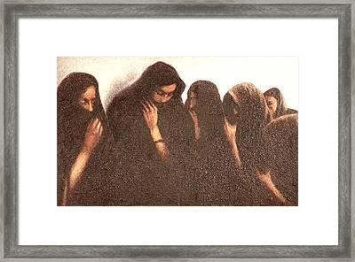 Arab Women Framed Print by James LeGros