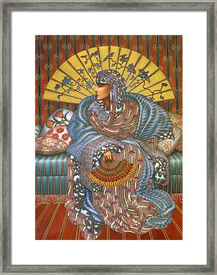 Arabella Framed Print by Jane Whiting Chrzanoska