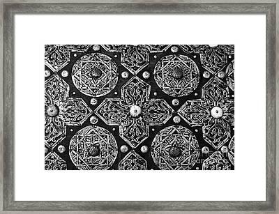 Arabesque Designs Framed Print by Floyd Menezes
