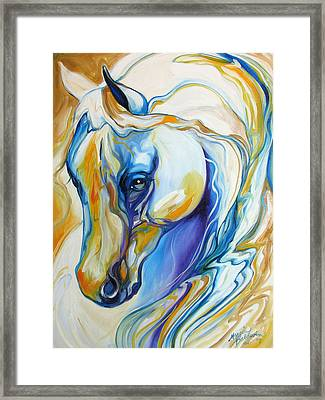 Arabian Abstract Framed Print