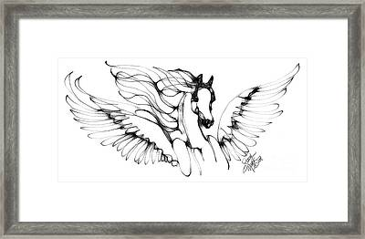 Arabian Angel Framed Print