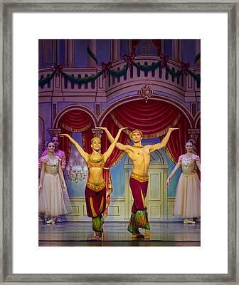 Arabian Dancers Framed Print