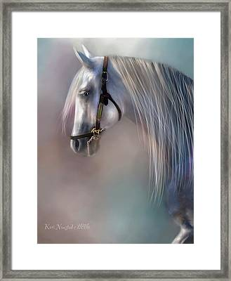 Arabian Grey Framed Print