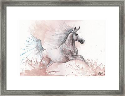 Arabian Horse 2017 08 01 Framed Print