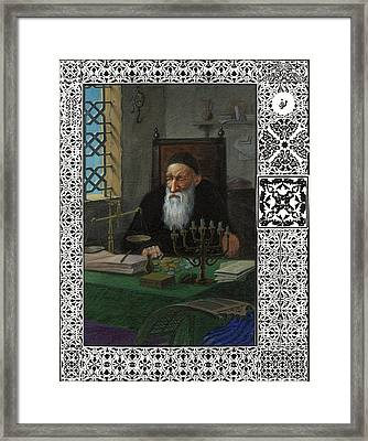 Arabian Nights - Money Changer Framed Print by Nikolay Vechkanov