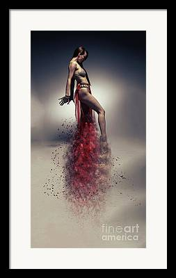 Sandstorm Framed Prints