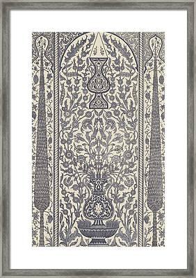 Arabian, Wainscot Framed Print