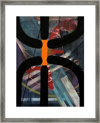 Arachnophobia Framed Print by Antonio Ortiz