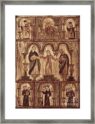 Aragon: Jesus & Disciples Framed Print