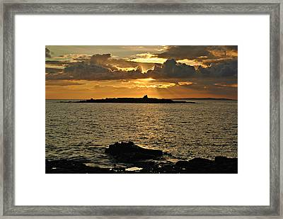 Aran Sunset Framed Print