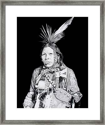 Arapahoe Framed Print by Ferrel Cordle