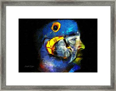 Araraman Framed Print by Leonardo Digenio