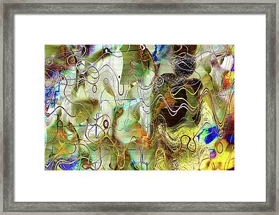 Arbitrary Color Opticality Framed Print by Don Gradner