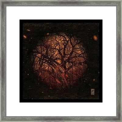 Arbor Mundi Framed Print by Inga Vereshchagina