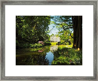 Arboretum De La Vallee-aux-loups Framed Print by Alex Cassels